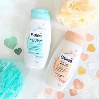 Sữa Tắm Dưỡng Da Balea Soft Cream DUSCHE Giữ Ẩm Mềm Mịn Da, Hương Thơm Lâu 250ml thumbnail