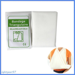 self adhesive bandage woven elastic Non-woven Triangle Bandage Thickened Triangle First Aid Bandage Security Protection Bandage Self Adhesive Elastic Bandage