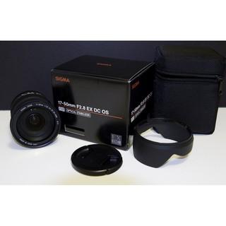 Ống kính Sigma 17-50 f/2.8 EX DC HSM OS for Canon Mới 99% (Hàng nhập khẩu)