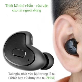 Tai nghe không dây Bluetooth 4.1 nhỏ gọn AVANTREE Apico BTHS-AH8M (A1859-Màu đen)