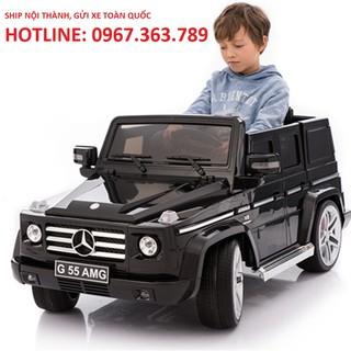 Ô tô xe điện MERCEDES G55 AMG đồ chơi vận động cho bé cao cấp