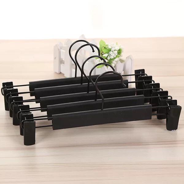 Móc kẹp nhựa đen 30cm ( bộ 10 móc )