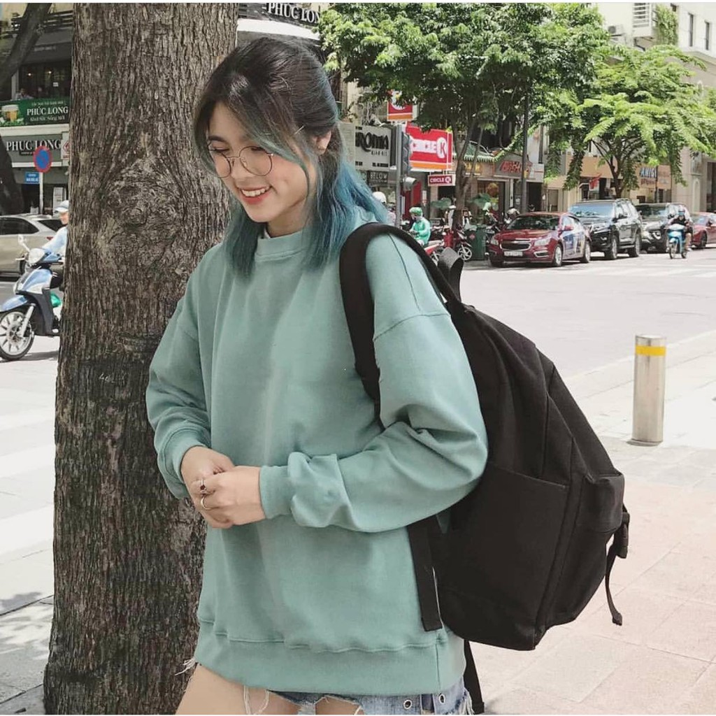 . Sweater Basic with Mint Color