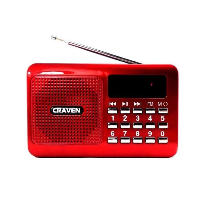 Loa nghe nhạc USB thẻ nhớ Craven CR-16 (Đỏ) - 3610633 , 974388041 , 322_974388041 , 119000 , Loa-nghe-nhac-USB-the-nho-Craven-CR-16-Do-322_974388041 , shopee.vn , Loa nghe nhạc USB thẻ nhớ Craven CR-16 (Đỏ)