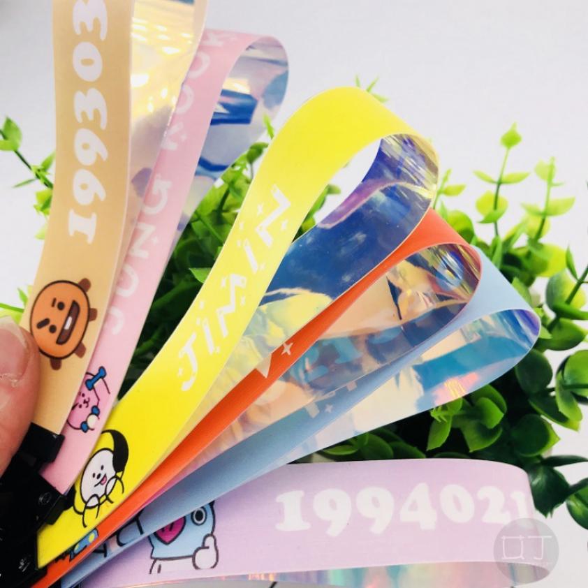AIDIN Ready Stock] KPOP COD BTS Cute Colorful Kchain Strap Lanyard