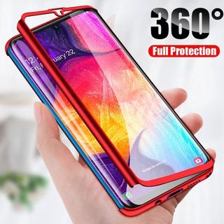 Ốp Điện Thoại Pc Cứng Mặt Nhám Bảo Vệ 360 Độ Cho Samsung Galaxy S10 Note 10 Lite A11 A31 A41 A51 A71 A81 A91 A21s M60s M80s