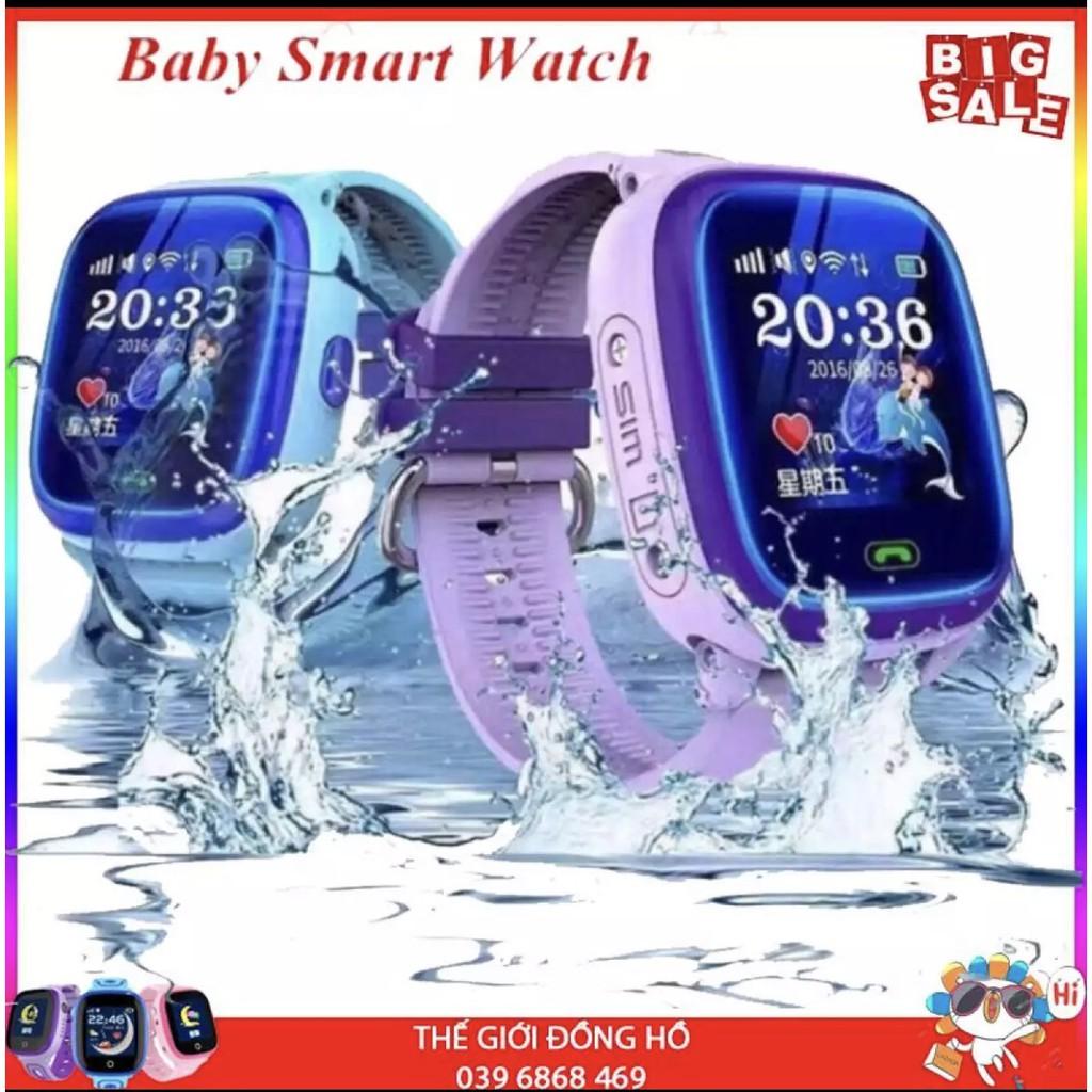 Đồng hồ Định vị trẻ em DF25G - Định vị chuẩn GPS vệ tinh, chống nước tuyệt đối IP67 BH 1 đổi 1