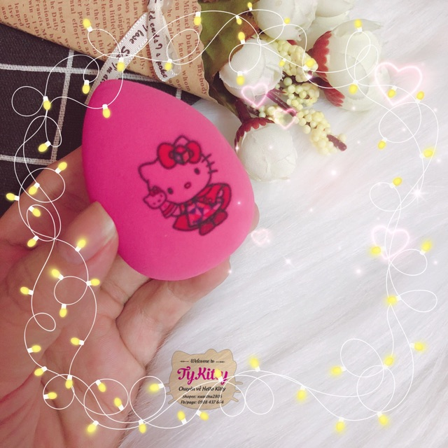 Mút trang điểm Sarino Hello Kitty