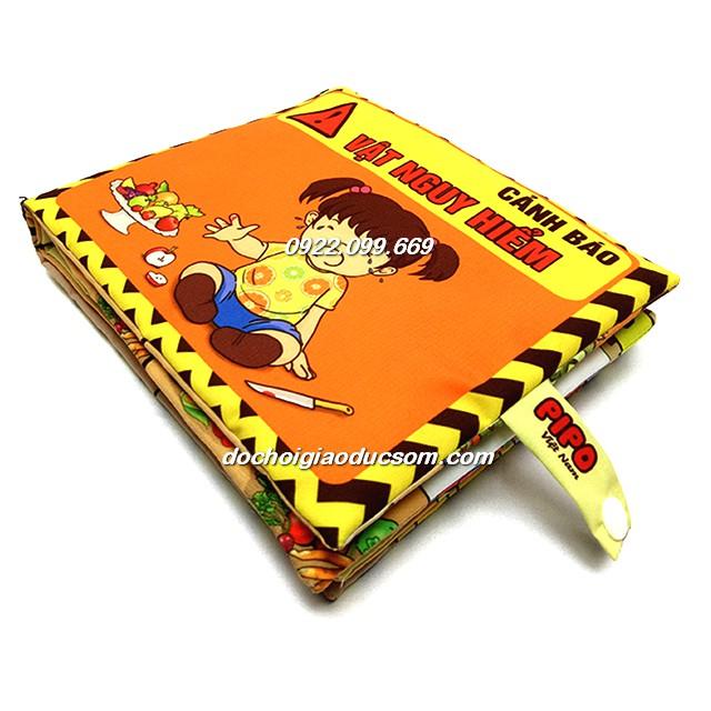 Sách vải Pipo Việt Nam (cảnh báo nguy hiểm) - 2595378 , 796608307 , 322_796608307 , 79000 , Sach-vai-Pipo-Viet-Nam-canh-bao-nguy-hiem-322_796608307 , shopee.vn , Sách vải Pipo Việt Nam (cảnh báo nguy hiểm)