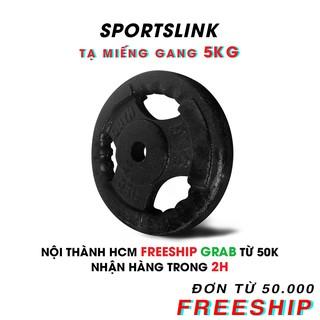 [Mã FASHIONRNK giảm 10K đơn 50K] [ FREESHIP ] Tạ MIẾNG gang 5kg (Đen) thumbnail
