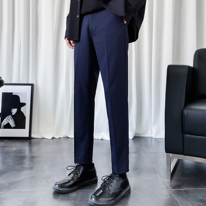 Mặc gì đẹp: Sang trọng với Quần âu nam Trendyman thời trang nam vải lụa co giãn nhẹ quần tây nam công sở đi làm đi chơi đi học