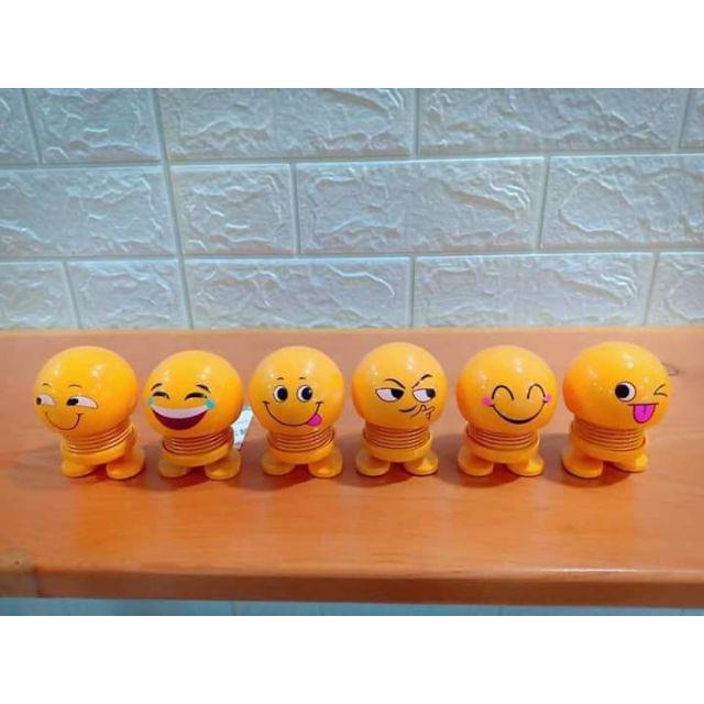 Smiling face spring  Set 6 Emoji lò xo