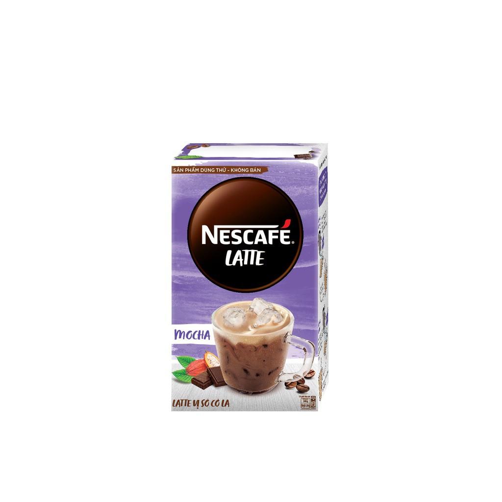 [HB gift] Bộ mẫu thử sản phẩm Mocha Latte (2 gói) NESCAFE