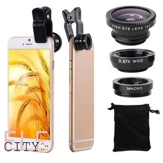 Ống Lens ống kính điện Ele Ống kính macro góc rộng mắt cá 3 trong 1 thoại chụp siêu nét Macro và Wide Angle chuyên chụp sản phẩm thumbnail