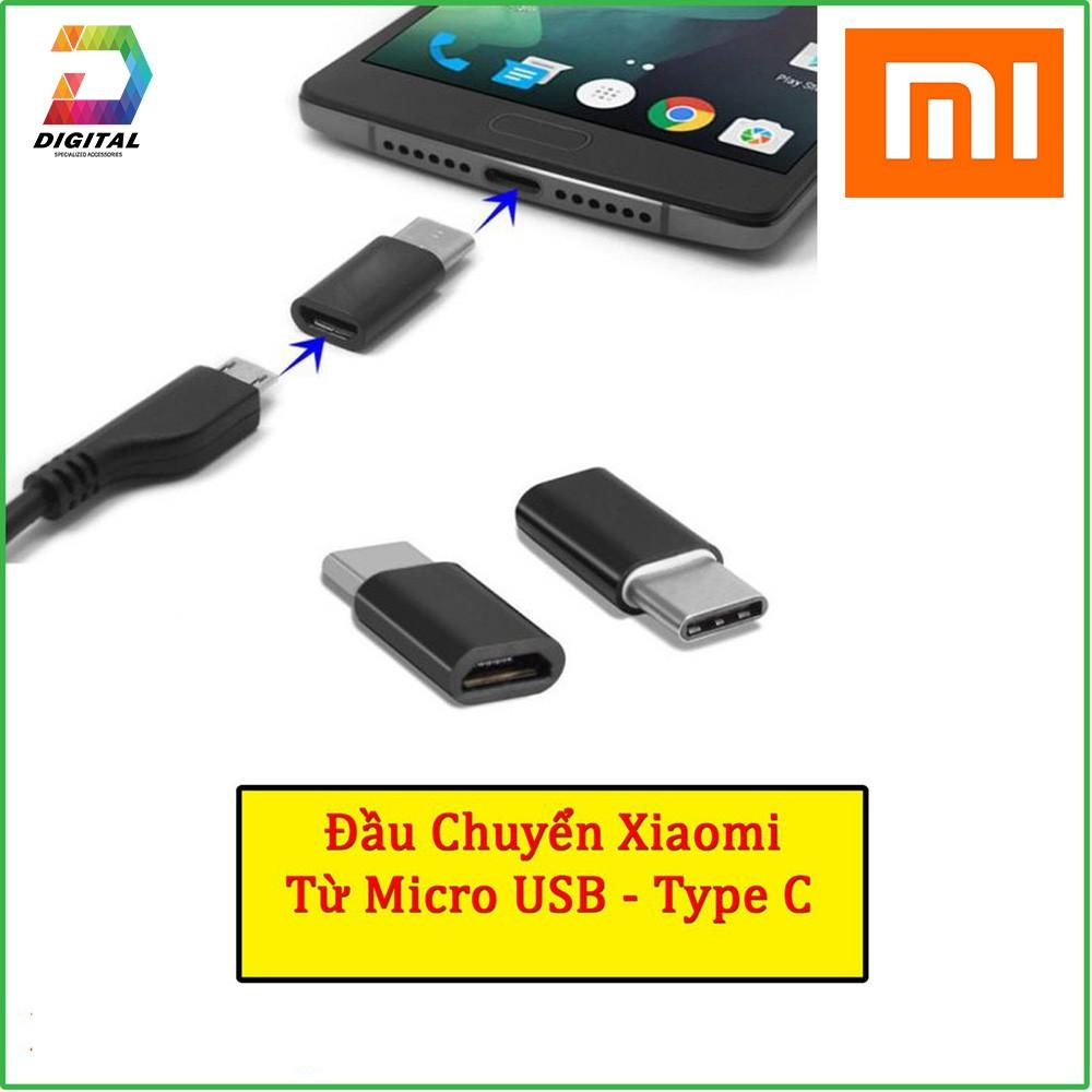 Đầu Chuyển Cổng Micro USB Sang Type C Chính Hãng Xiaomi
