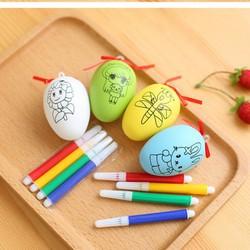 [ĐỒ CHƠI TRẺ EM] Trứng tô màu độc đáo cho bé - Đồ chơi trứng tô màu