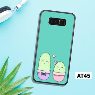 Ốp lưng Samsung in hình cây xương rồng cho NOTE 8 – NOTE 9