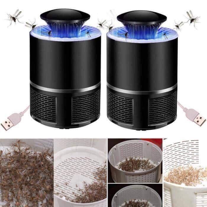 Đèn muỗi thông minh cắm cổng USB, đèn thu hút muỗi và côn trùng cao cấp