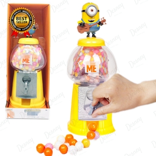Despicable Me Minions Mini Grab And Catch Clip Candy Machine Toy Capsule Machine Educational Toys For Kids Christmas Gift