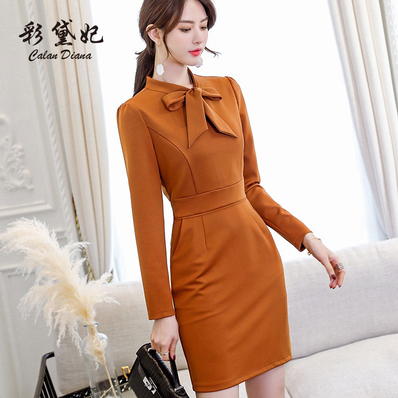 LV Spring and Summer New Fashion Baitie Large Size Slim Pure Color Long Sleeve L
