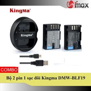 Bộ 2 pin 1 sạc máy ảnh Kingma cho Panasonic DMW-BLF19 thumbnail