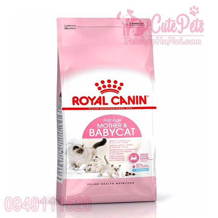 [SẬP GIÁ] Royal Canin BabyCat 34 Thức ăn mèo con 1- 4 tháng túi 4kg - Cutepets
