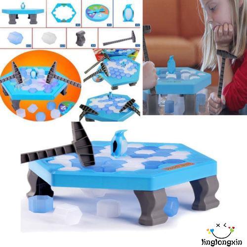 Bộ đồ chơi phá băng bẫy chim cánh cụt cho trẻ