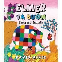 Sách Elmer và bạn bướm