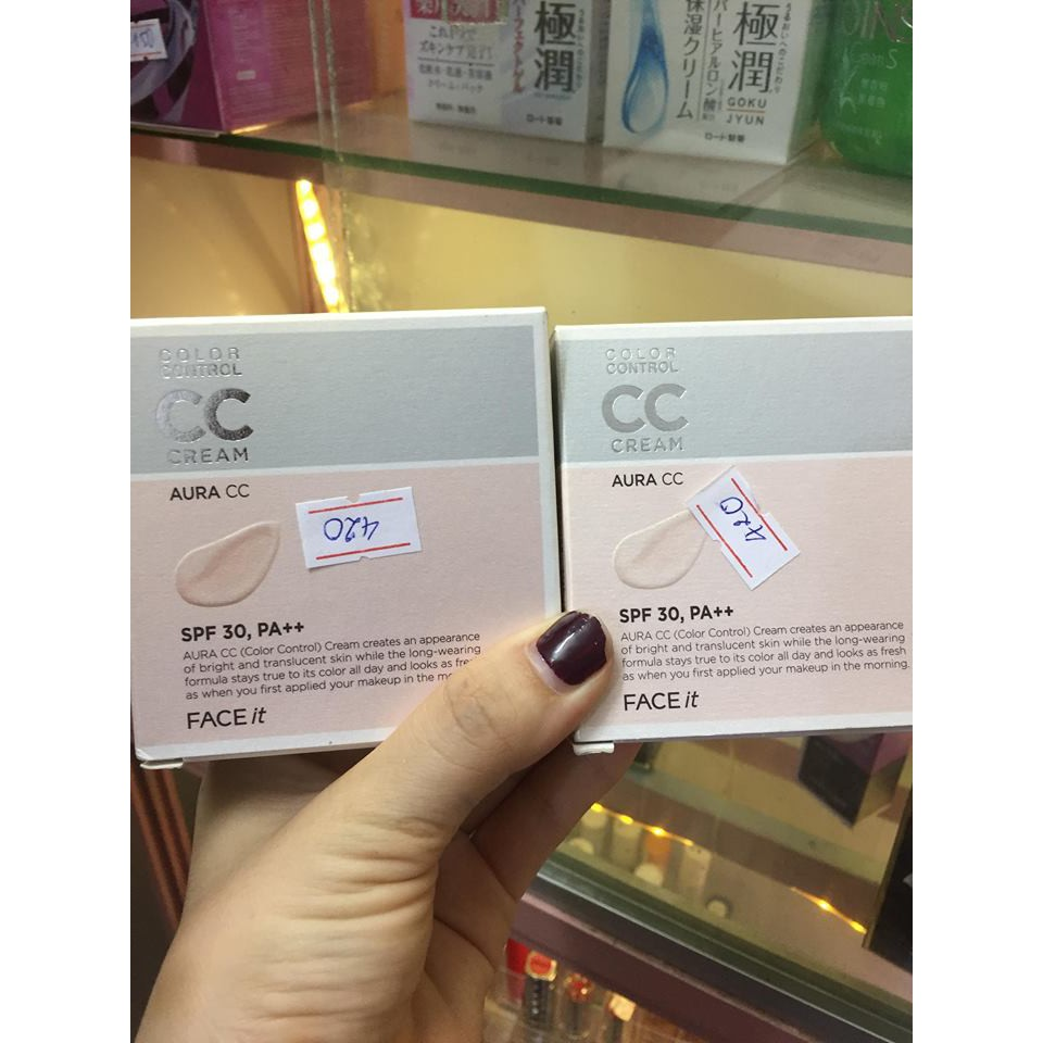 Chuẩn auth Kem Nền CC Cream Face It kiềm dầu cực đỉnh - 3115748 , 1163766698 , 322_1163766698 , 698000 , Chuan-auth-Kem-Nen-CC-Cream-Face-It-kiem-dau-cuc-dinh-322_1163766698 , shopee.vn , Chuẩn auth Kem Nền CC Cream Face It kiềm dầu cực đỉnh