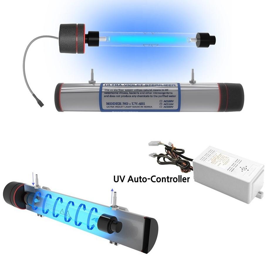 [Đèn diệt khuẩn Ultra Violet Smart-UV] - Diệt Khuẩn Ưu Việt - Vi Xử Lý Thông Minh - Tuổi Thọ Gấp Đôi - Thế Giới Lọc Nước