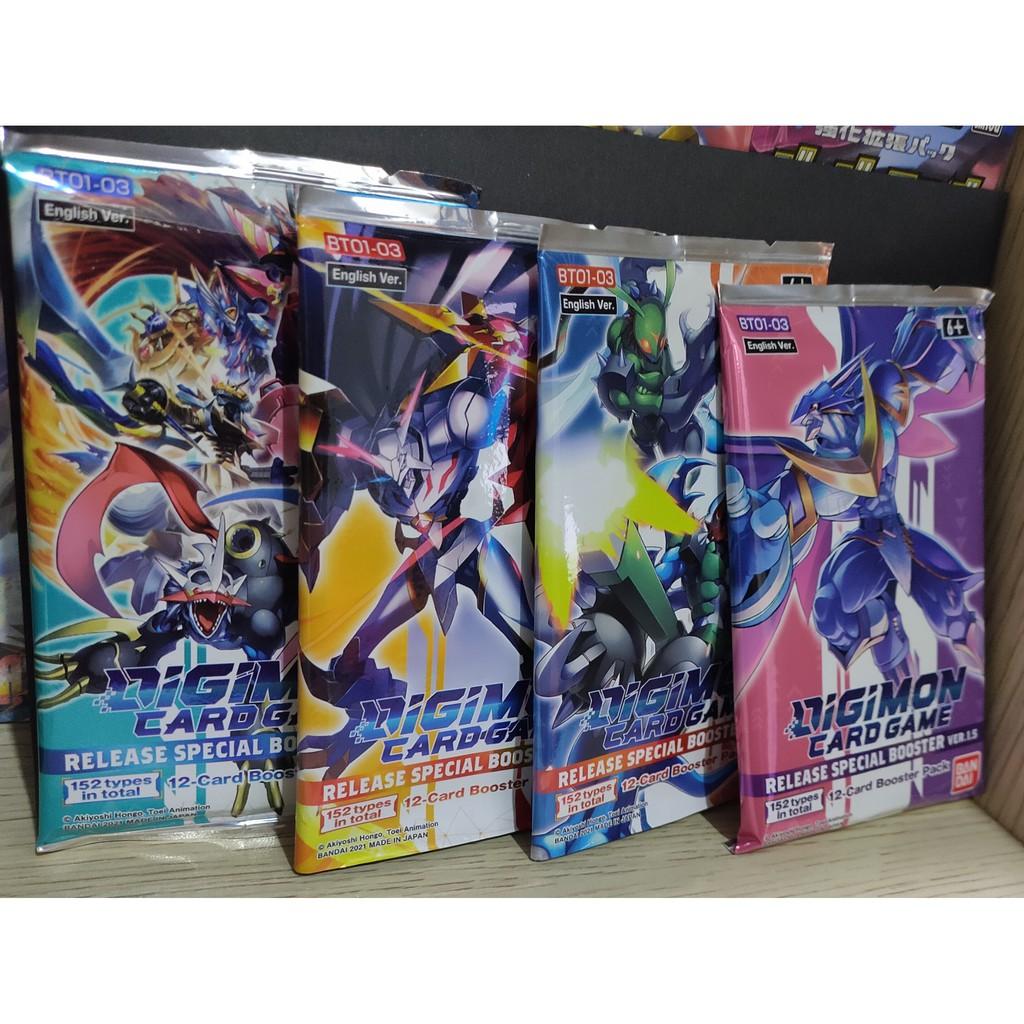 Gói bài Digimon phiên bản đặc biệt 1.5 (Chính hãng Bandai)