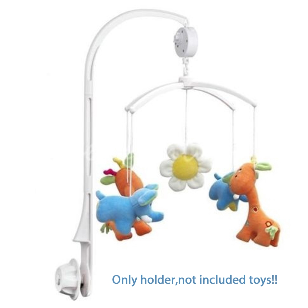 Brahms lullaby Baby Crib Mobile Bed Bell Toy Holder Arm Bracket + Wind-up Music Box