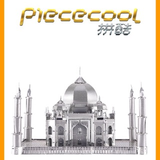 📌 (HÀNG CÓ SẴN) Mô hình lắp ghép kim loại 3d Taj Mahal