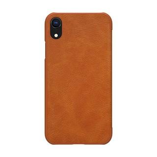 Bao da Iphone Xr chính hãng Nillkin Qin cao cấp giá sốc