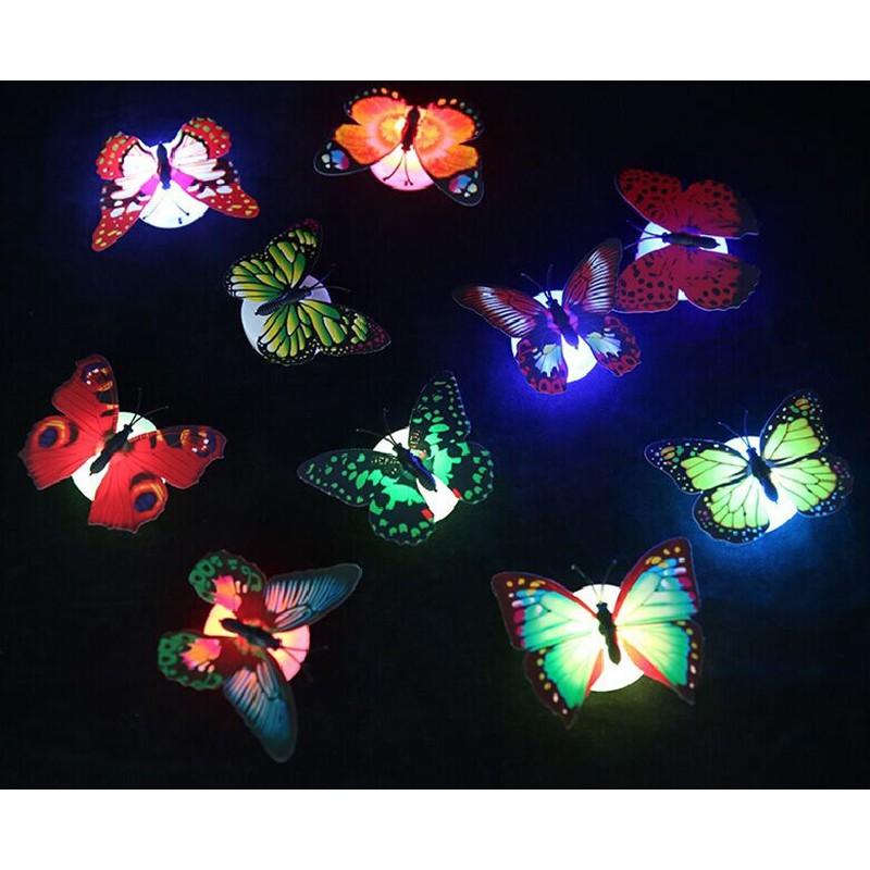 Đèn led hình bướm trang trí phòng 1407