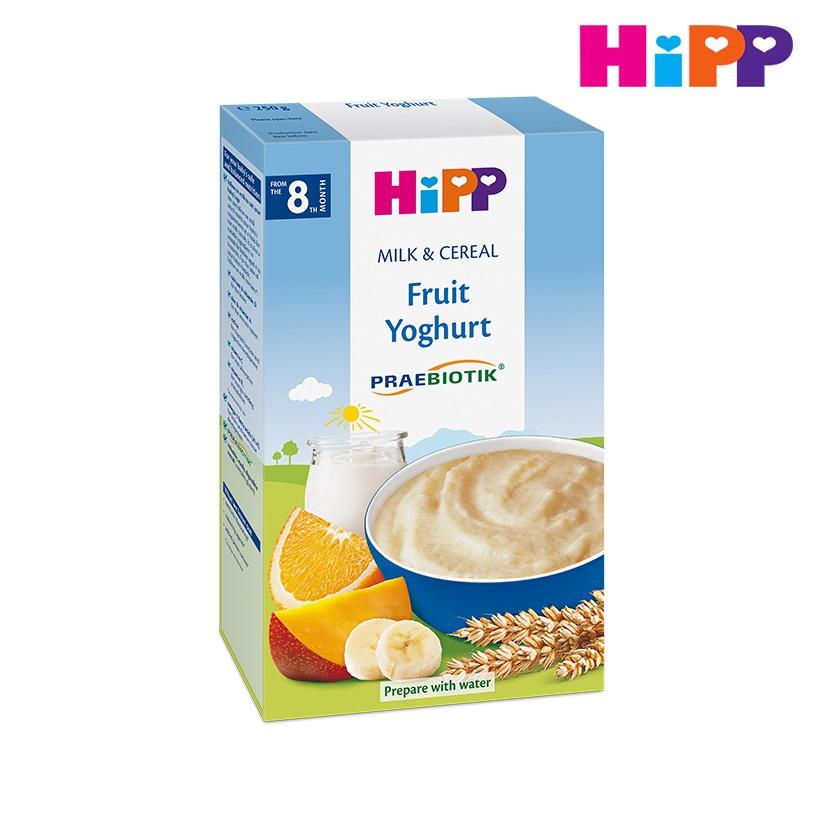 Bột dinh dưỡng vị Hoa quả, sữa chua 250g HiPP 3311