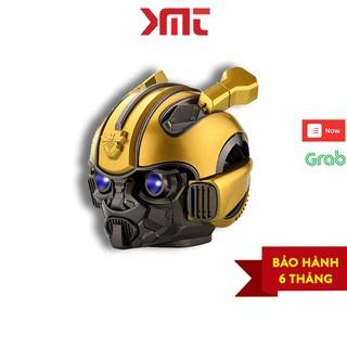 Loa bluetooth bumblebee transformer công nghệ 5.0 âm bass siêu trầm, mắt có đèn LED xanh cực đẹp KMT Store LBT03