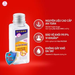 Nước rửa tay khô Avatar 75% cồn (40ml)- Diệt khuẩn tối đa - có chứng nhận Y tế từ PASTEUR thumbnail