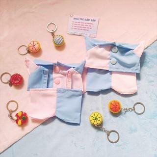 Outfit Doll 20cm – Màu hồng xanh