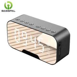 Loa Basspal Q5 Kết Nối Bluetooth Tích Hợp Đồng Hồ Báo Thức Radio FM Và Phát Nhạc Trên Thẻ Nhớ TF