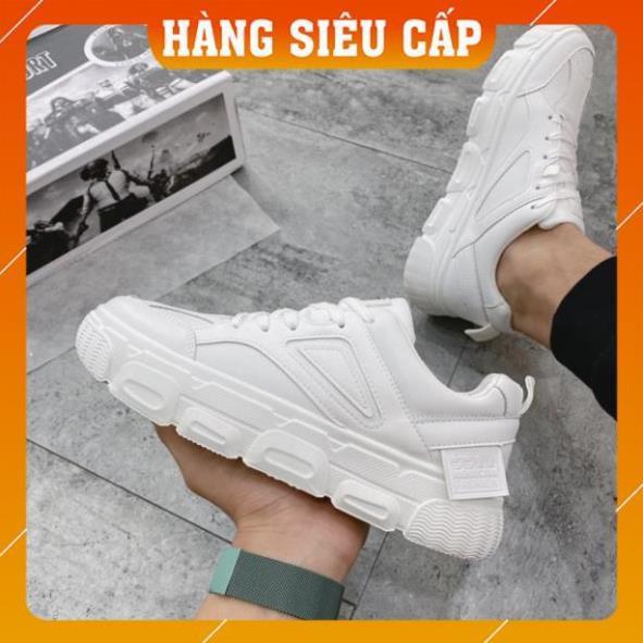 [FreeShip - Hàng xịn] Giày thể thao nam, giày sneaker nam full trắng A2189