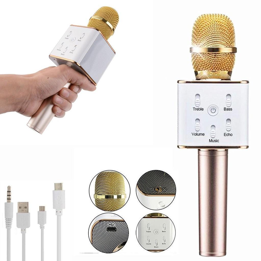 Mic Karaoke Kèm Loa Có Bluetooth Q7 3 trong 1 - 2725477 , 362700290 , 322_362700290 , 269000 , Mic-Karaoke-Kem-Loa-Co-Bluetooth-Q7-3-trong-1-322_362700290 , shopee.vn , Mic Karaoke Kèm Loa Có Bluetooth Q7 3 trong 1