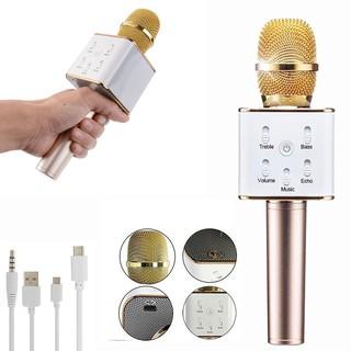 [Mã ELFLASH5 giảm 20K đơn 50K] Micro Karaoke Kèm Loa Bluetooth Q7 - Hát Hay Giá Rẻ