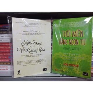 Combo 2 cuốn thôi miên bằng ngôn từ, nghệ thuật viết quảng cáo