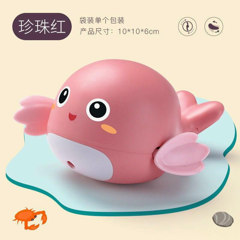 Đồ chơi CÁ HEO NHỎ thả bồn tắm, đồ chơi vặn cót hình cá xinh xắn đáng yêu cho bé (Giao ngẫu nhiên)