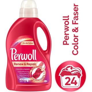 Nước giặt Perwoll Color & Faser nhập khẩu Đức 1.5L