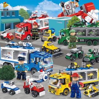 Mô Hình Xe Cứu Hỏa Đồ Chơi Pan Los 659001-4