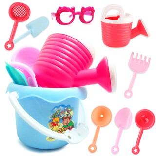 9pcs Beach Sand Spade Shovel Pit Play Kids Baby Educational Toys Set Sungl