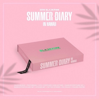 BLACKPINK -2019 SUMMER DAIRY IN HAWAII
