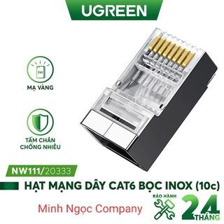 Đầu bấm hạt mạng cho dây CAT6 bọc inox UGREEN NW111 - Hàng Chính Hãng thumbnail